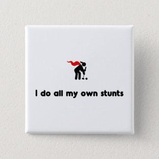 Croquet Hero 15 Cm Square Badge