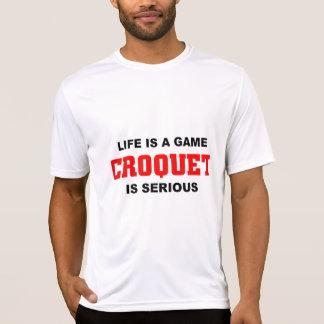 Croquet is serious T-Shirt