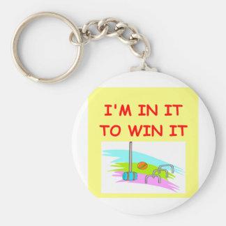 croquet key ring