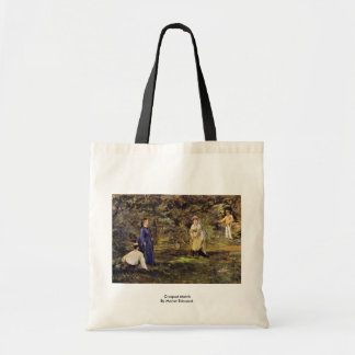 Croquet Match By Manet Edouard Tote Bag