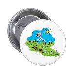 Croquet Pinback Buttons