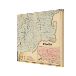 Crosby, Ohio Canvas Print