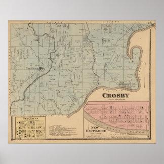 Crosby, Ohio Poster