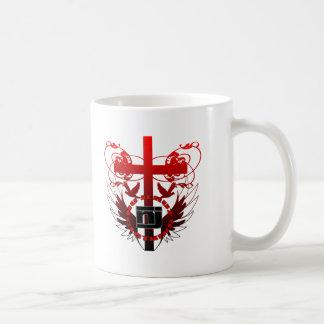 cross2 basic white mug