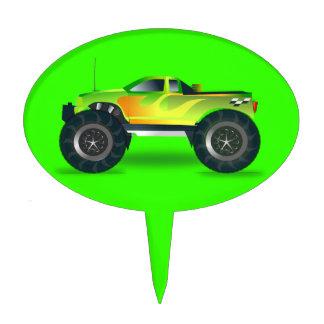 cross-42563 cross, car, cartoon, truck, sports, pu cake pick
