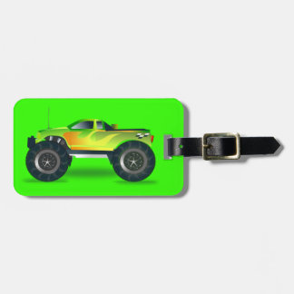 cross-42563 cross, car, cartoon, truck, sports, pu luggage tag