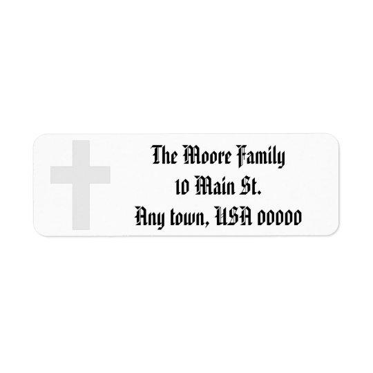 """Cross"" Address Labels"