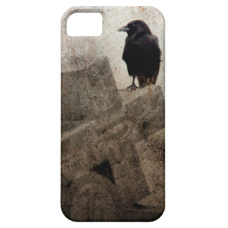 Cross And A Crow iPhone 5 Cover