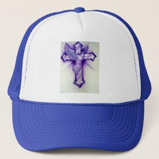 Cross and Dove Trucker Hat