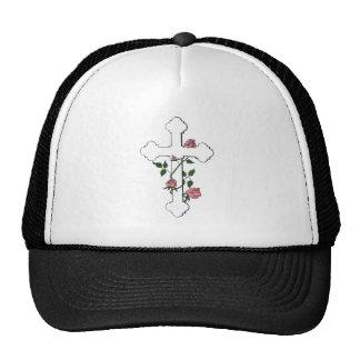 Cross_and_Roses Cap
