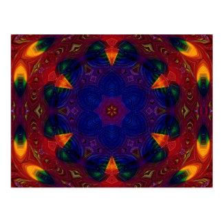Cross and Star Mandala Postcards