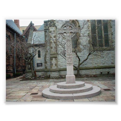 Cross at Unity Chapel in Buffalo New York Art Photo