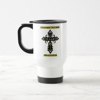 Cross/Awareness...Endometriosis Travel Mug