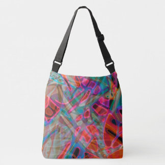 Cross Body Bag Colorful Stained Glass