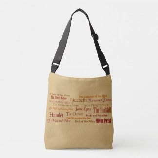 Cross-Body Tote bag, Classic Literature