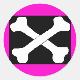 Cross bones stickers