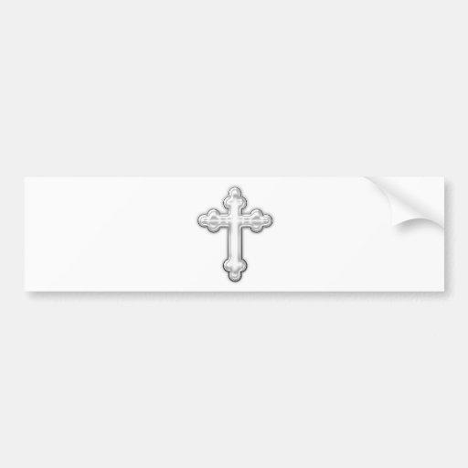 Cross Bumper Stickers