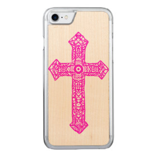 Cross Carved iPhone 8/7 Case