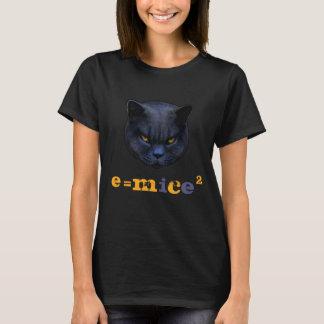 Cross Cat vs Einstein! Funny Cat Saying T-Shirt