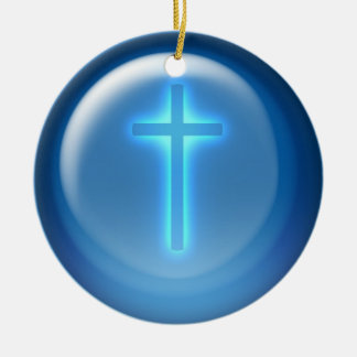 Cross - Christian Christmas Ornament