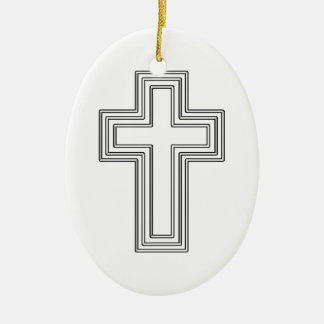 Cross - Christian Ornament