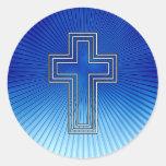 Cross - Christian Sticker