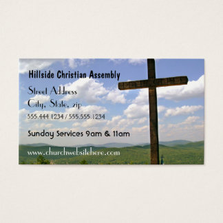 Cross Church Business Card