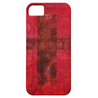 CROSS  Contemporary Christian art iPhone 5 Covers
