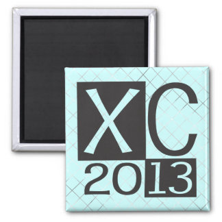 Cross Country 2013 - CC Running Fridge Magnets
