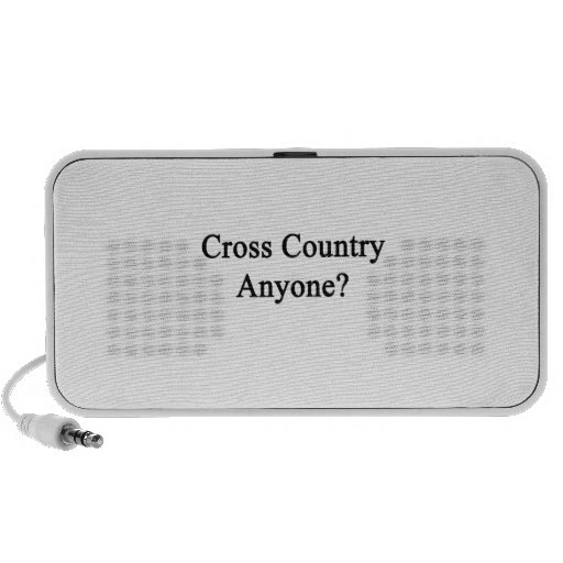 Cross Country Anyone PC Speakers