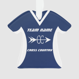 Cross Country Blue Sports Jersey Photo