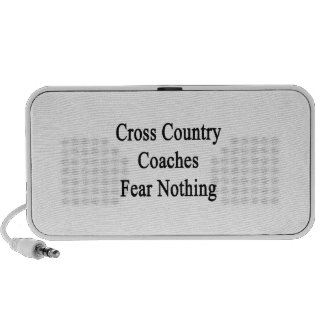 Cross Country Coaches Fear Nothing iPod Speaker