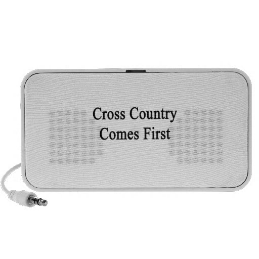 Cross Country Comes First Mp3 Speaker