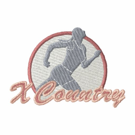 Cross Country Embroidered Hoody