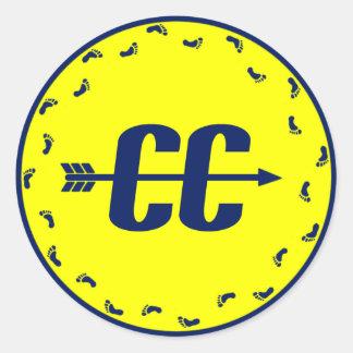 Cross Country Feet Sticker