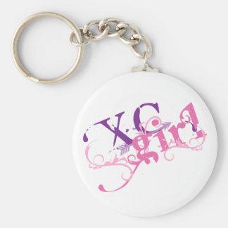 Cross Country Girl Key Ring
