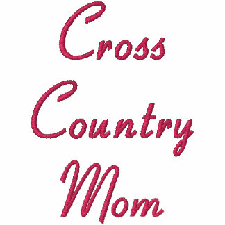 Cross Country Mom Embroidered Hoodie