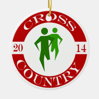 Cross Country Ornament - 2014