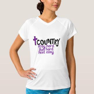 Cross-Country, Pray run rest T-Shirt
