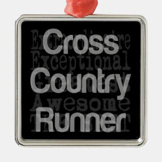 Cross Country Runner Extraordinaire Christmas Ornament