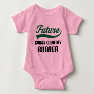 Cross Country Runner (Future) Baby Bodysuit