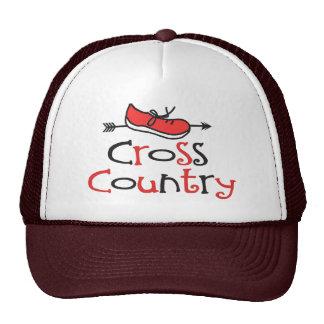 Cross Country Runner Trucker Hats