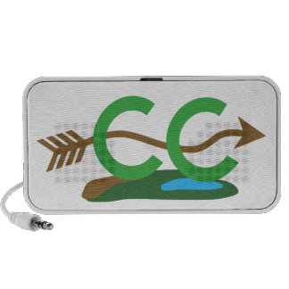Cross Country Runner - Hilly Arrow iPhone Speaker