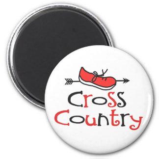 Cross Country Runner Magnets