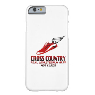 Cross Country Running Barely There iPhone 6 Case