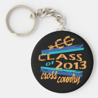 Cross Country Running - Class of 2013 Graduate Keychain