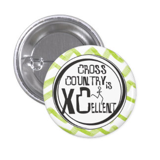Cross Country Running is XCellent 3 Cm Round Badge