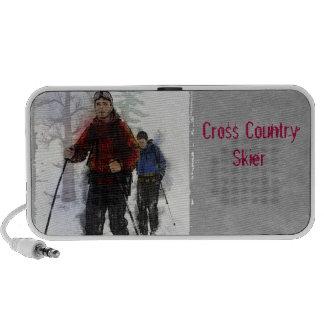 Cross Country Skiers Travelling Speakers