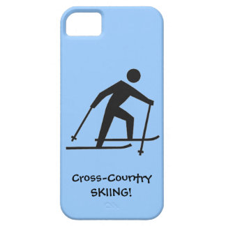 Cross-Country Skiing Design iPhone Casemate iPhone 5 Cover