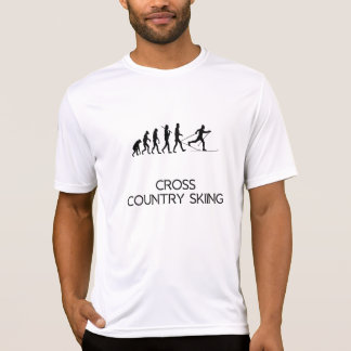 Cross Country Skiing Evolution T-Shirt
